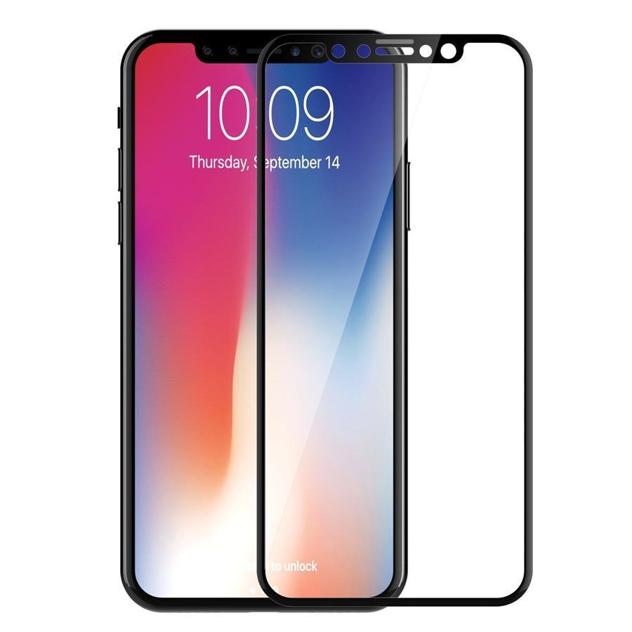 size 40 adbb4 ddf4f Samsung Galaxy J6 Plus J6+ 6D 0.2mm Full Cover Tempered Glass Screen
