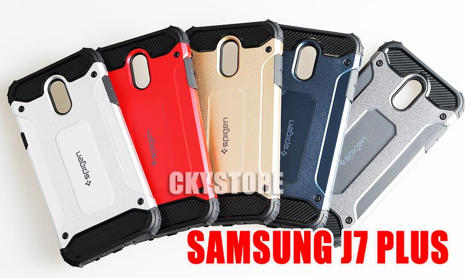 wholesale dealer 702b1 bf733 SAMSUNG Galaxy J7 Plus SPIGEN CUSHION SHOCK ABSORPTION Case