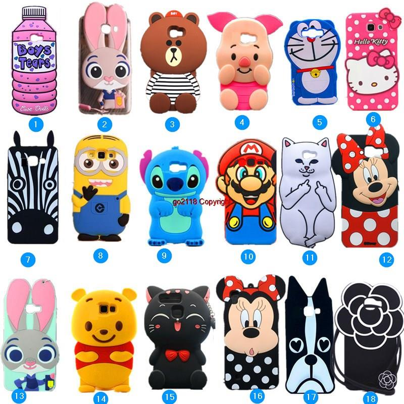 promo code 6fdf2 12255 Samsung Galaxy J7 Prime G6100 on7 2016 Mickey Cute Case Casing Cover