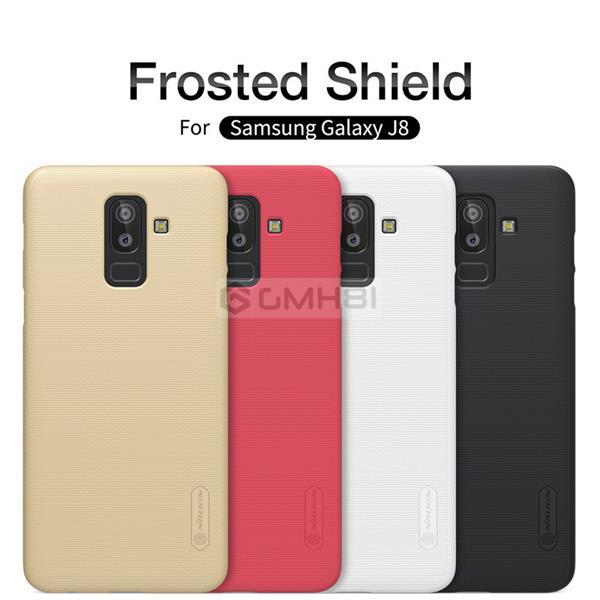 quality design fde6e 2ec28 Samsung Galaxy J8 2018 Nillkin Super Frosted Hard Back Cover Case