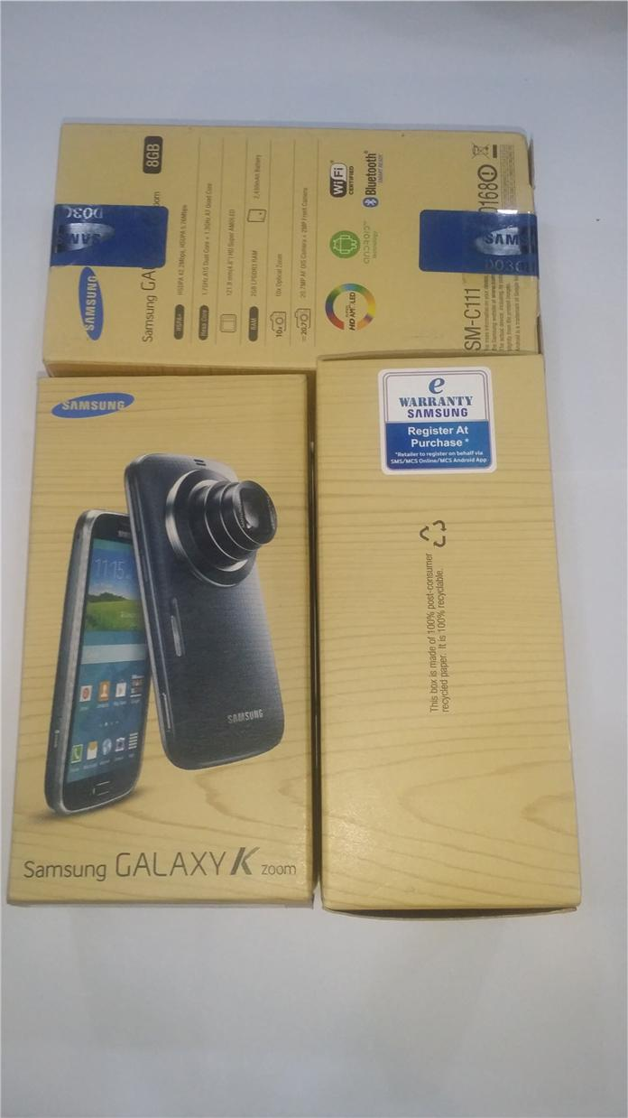 New Samsung Galaxy K Zoom C111 20mp End 5 1 2016 625 Pm 8gb White Camera Smartphone