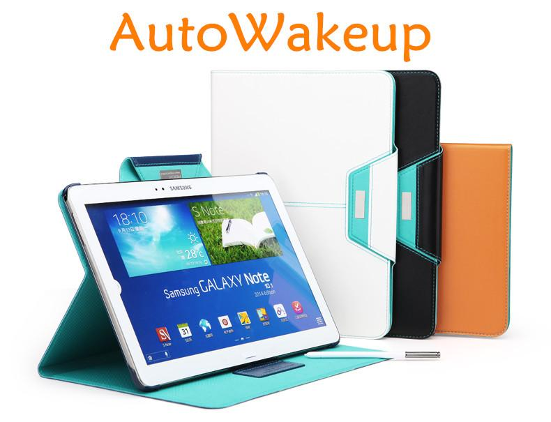 Samsung Galaxy Note 10.1 P600 P605 2014 Edition Flip Case + Free Gifts