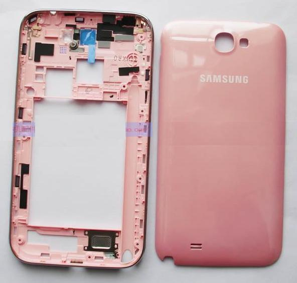 finest selection 06c59 9f03a Samsung Galaxy Note 2 N7100 Housing Frame + Back Cover ( Pink )