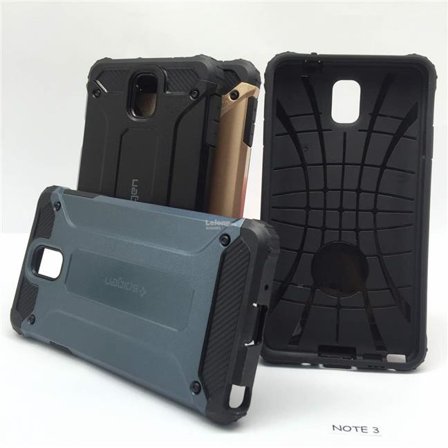Samsung Galaxy Note 3 4 5 Spigen Tough Armor Slim Case