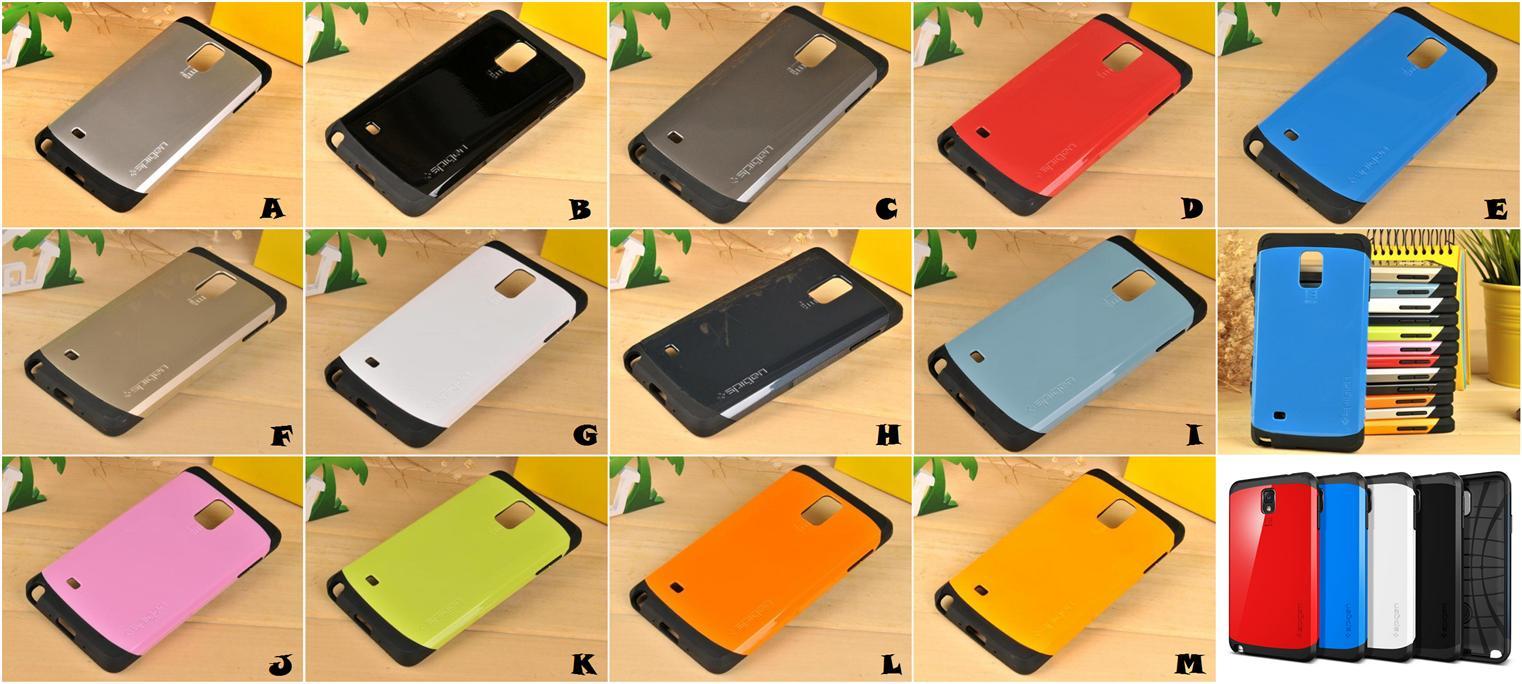 timeless design be8bf 27d08 Samsung Galaxy Note 3 4 SPIGEN SGP SLIM ARMOR Case Cover *FREE SP*