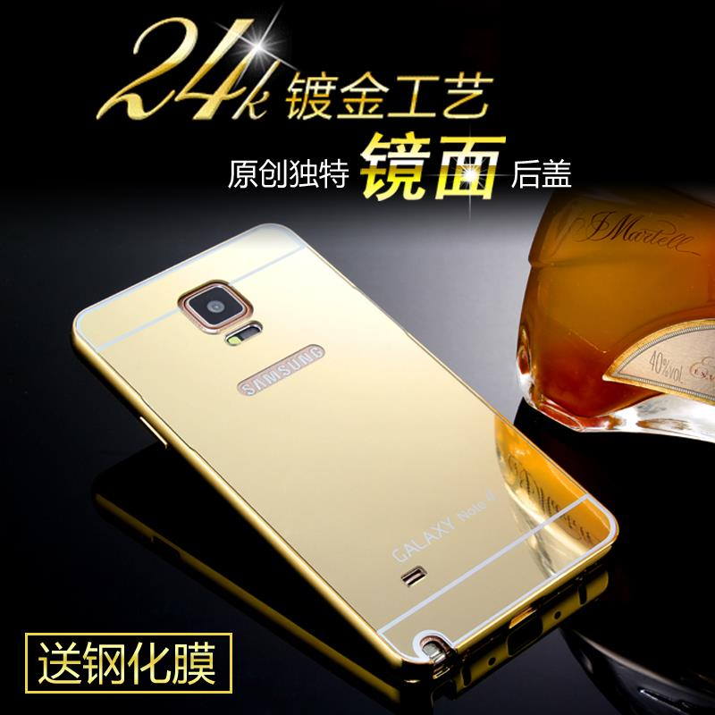 new style 890fd e7598 Samsung Galaxy Note 4 Metal Case Cover Casing Note 4 Aluminium Case