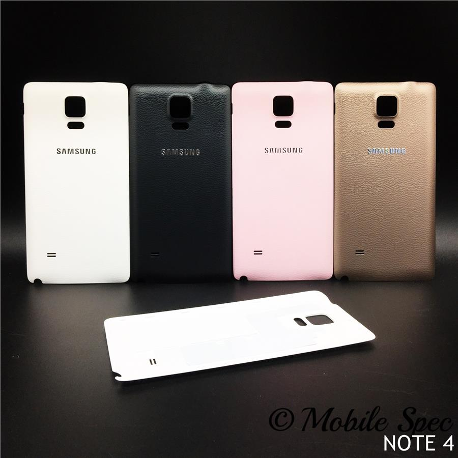 premium selection 9a928 7bc66 SAMSUNG GALAXY NOTE 4 N910 BATTERY BACK COVER HOUSING CASE