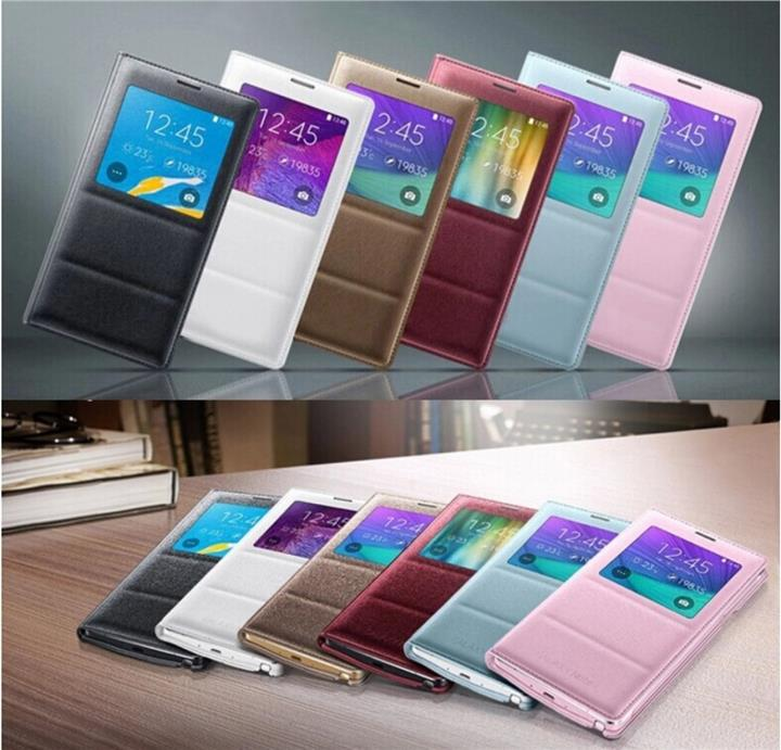 Samsung Galaxy Note 4 note4 flip case cover (optional with chip) RM 38