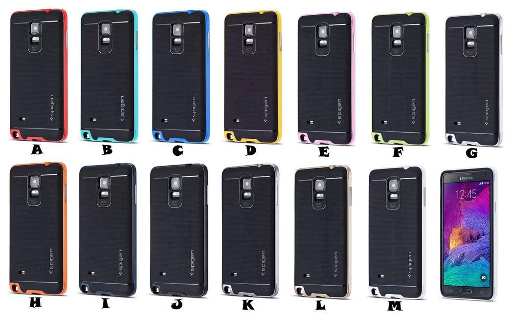 finest selection 965e0 3d608 Samsung Galaxy Note 4 SPIGEN SGP NEO HYBRID SLIM Case Cover *FREE SP*