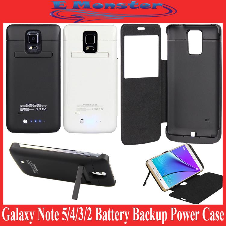 huge selection of 6e87c cee25 Samsung Galaxy Note 5 4 3 2 N7100 N9100 N9208 Battery Power Bank Case