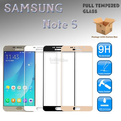 SAMSUNG Galaxy Note 5 Full Cover Tempered Glass Screen Protector