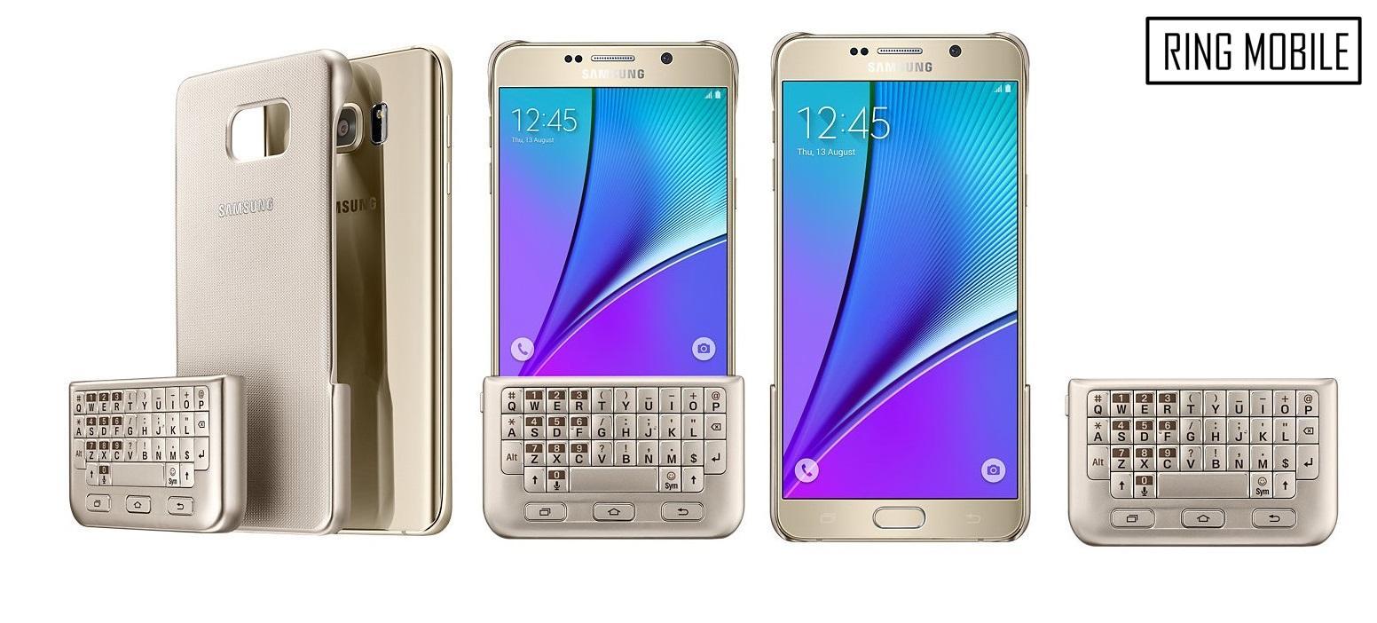 Samsung Galaxy Note 5 Keyboard Cover Case - Original / rmtlee