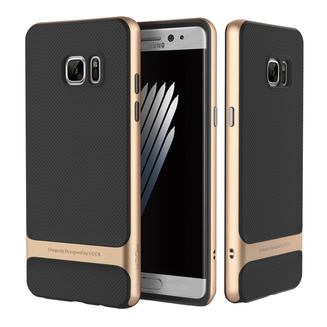 new concept 38bbb 7c8db Samsung Galaxy Note 7 Genuine ROCK Royce slim armour tpu bumper matte back  cas