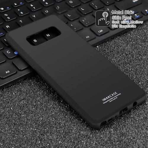 SAMSUNG GALAXY NOTE 8 N950 IMAK BLACK SMOOTH SKIN TPU CASE