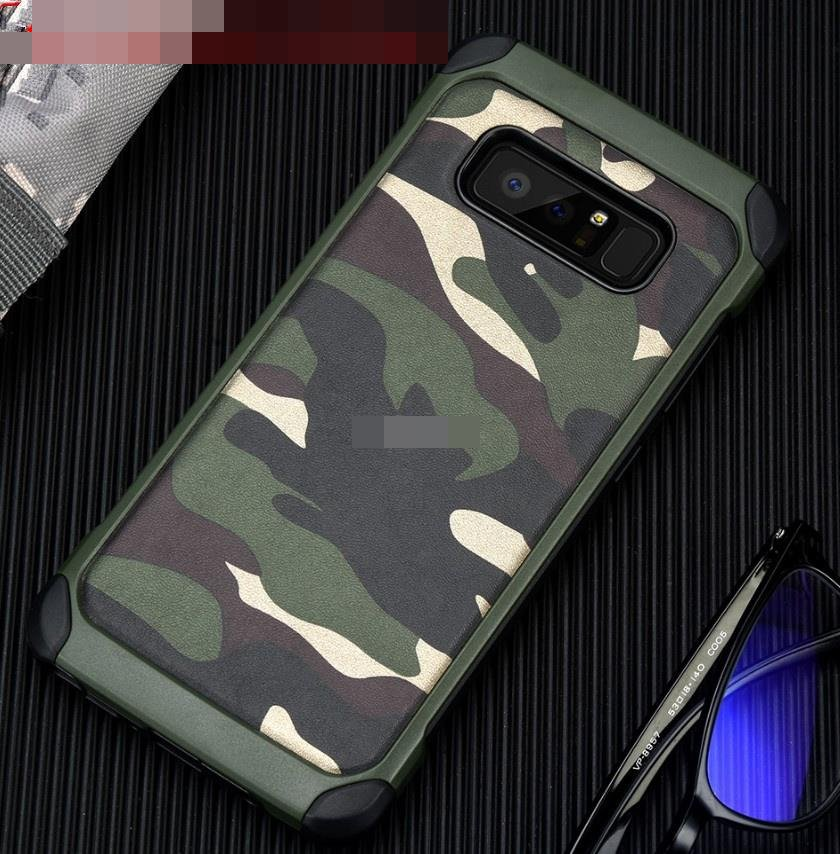 Samsung Galaxy Note 8 Note8 Camouflage ShakeProof Case Cover Casing