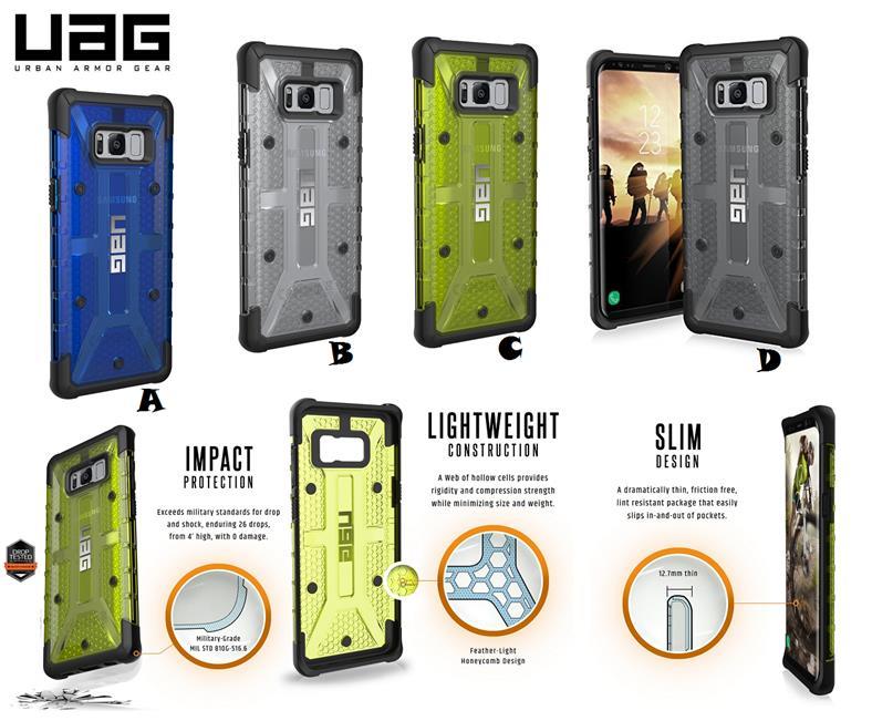 sports shoes 5d9c8 f31c8 Samsung Galaxy Note 8 UAG Plasma Maverick Military Spec Case Cover