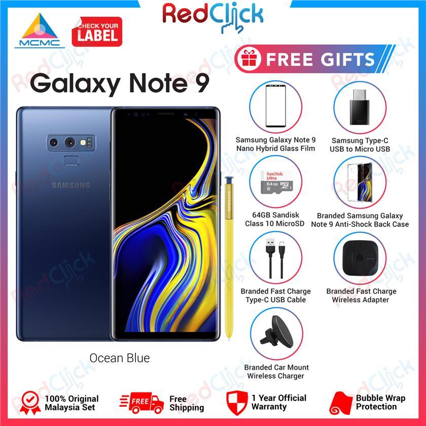 Samsung Galaxy Note 9 /n960 (6GB/128GB) + 6 Free Gift Worth RM539