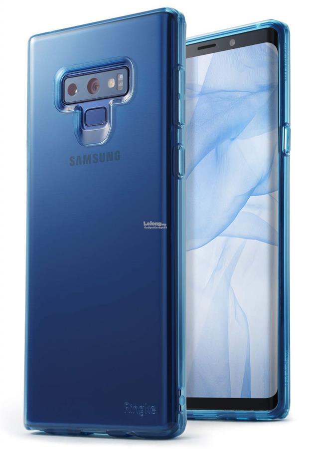 separation shoes 8574b d2972 Samsung Galaxy Note 9 - Ringke Air TPU Soft Case (Aqua Blue)