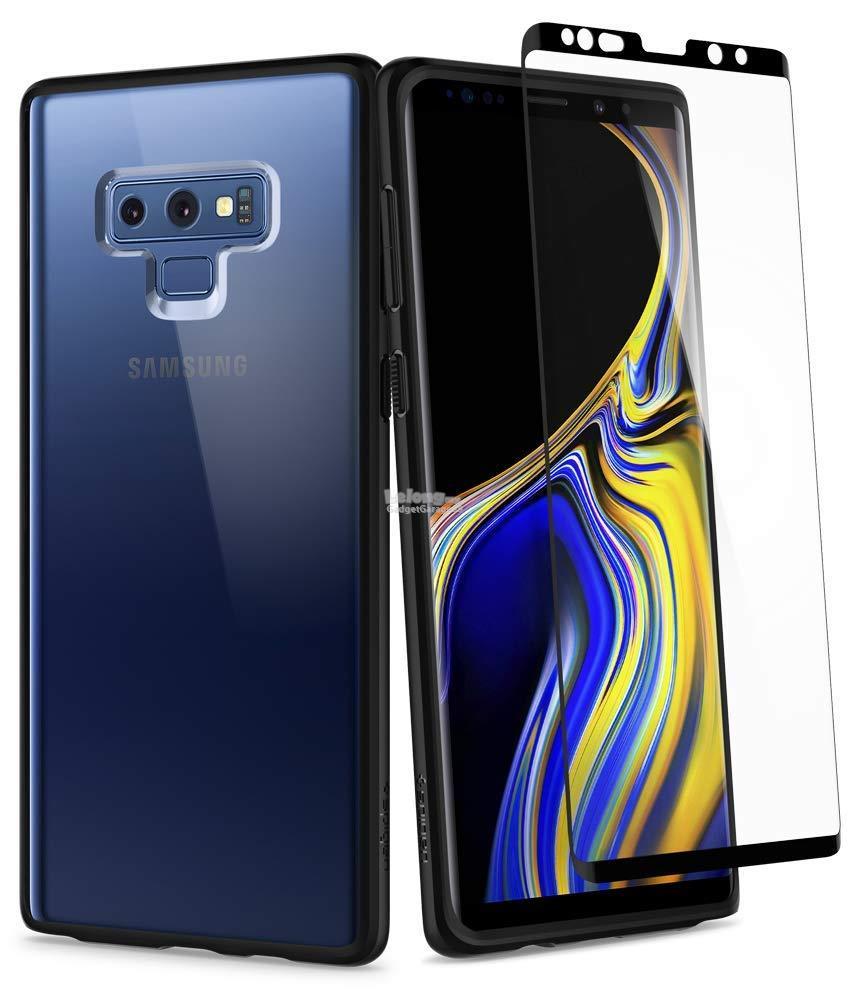 best service d860f 47265 Samsung Galaxy Note 9 - Spigen Ultra Hybrid 360 & Tempered Glass Case