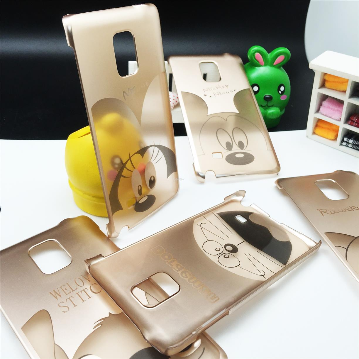 Samsung Galaxy Note Edge Cartoon Disney Gold Case