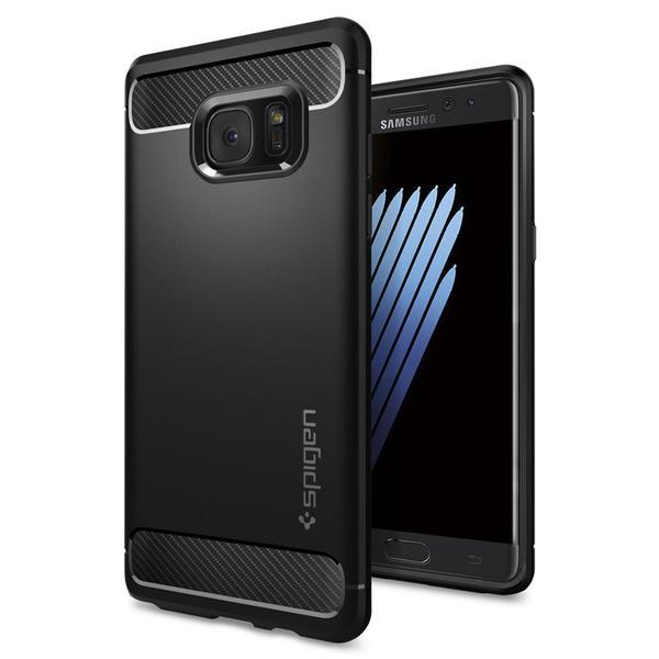 Samsung Galaxy Note Fe Spigen Rugged Armor Case Cover Casing