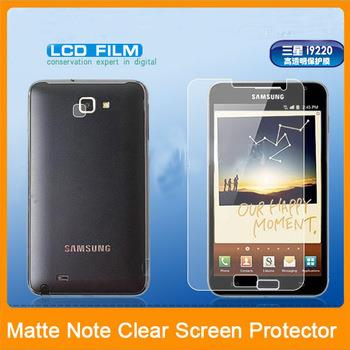 Samsung Galaxy Note i9220 -Matte Anti-Glare Anti Glare LCD Screen Prot