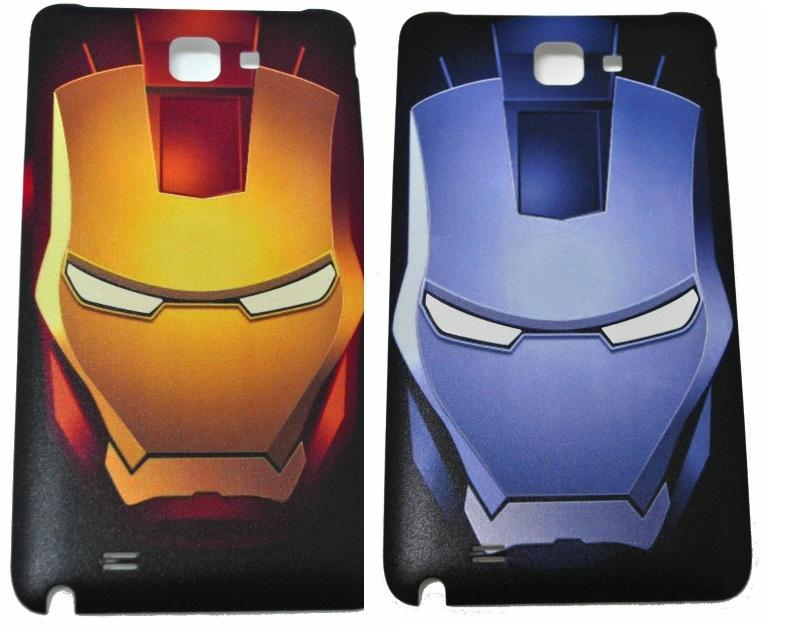 Samsung Galaxy Note1 Note 1 N7000 I9220 Iron Man IronMan Battery Cover