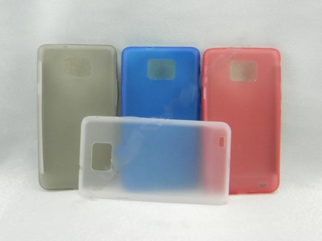 Samsung Galaxy S2 I9100 TRANSPARENT MOSHA ULTRA SLIM JACKET CASE COVER