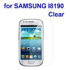 Samsung Galaxy S3 mini I8190 Clear Screen Protector LCD film