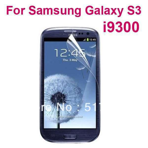 Samsung Galaxy S3 SIII i9300  clear Screen Protector LCD film