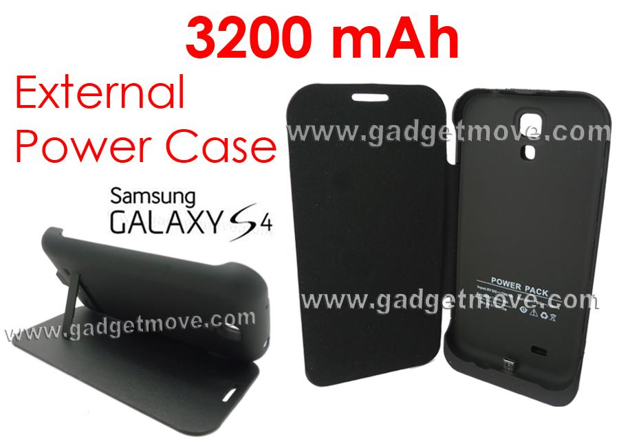 finest selection 6fa97 a7c9c Samsung Galaxy S4 3200mAh External Backup Battery Power Pack Case