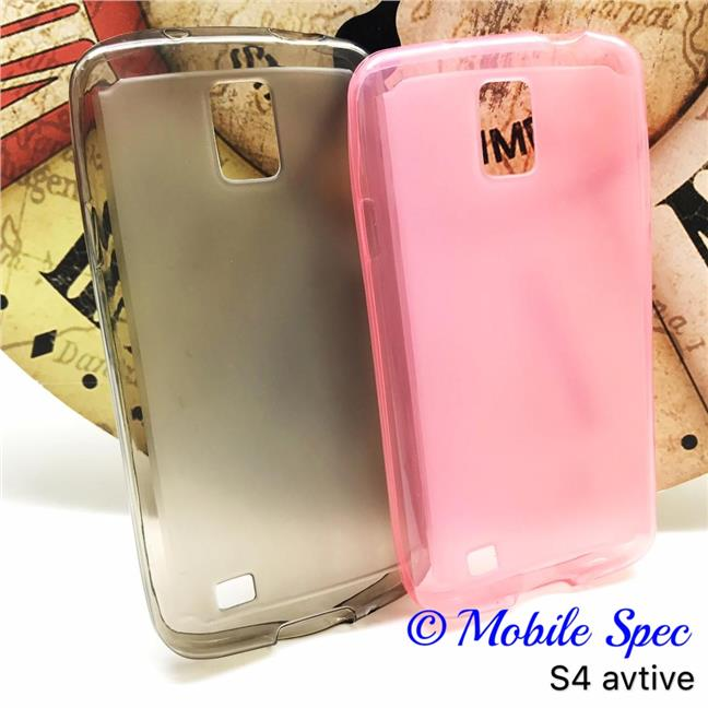 finest selection 9350f 44f4a SAMSUNG GALAXY S4 ACTIVE i9295 SOFT TPU BACK COVER CASE