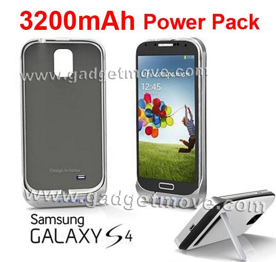 online store b5692 ca5c0 Samsung Galaxy S4 Backup Battery 3200mAh Power Case Cover / Bank