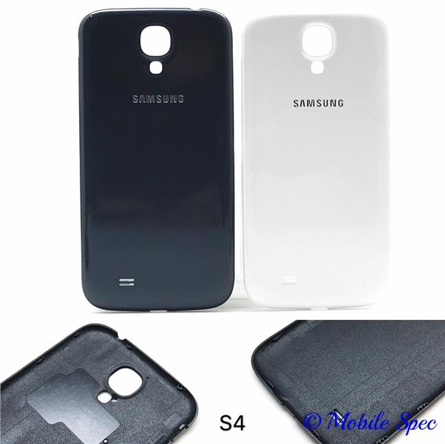 online retailer afb94 7c677 SAMSUNG GALAXY S4 i9500 BATTERY BACK COVER HOUSING REPLACEMENT CASE
