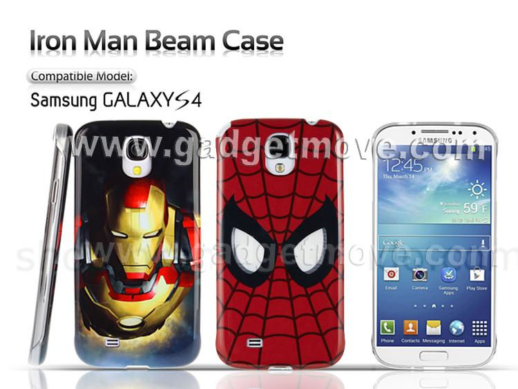 Samsung Galaxy S4 i9500 MARVEL Iron Man Beam NFC Back Case