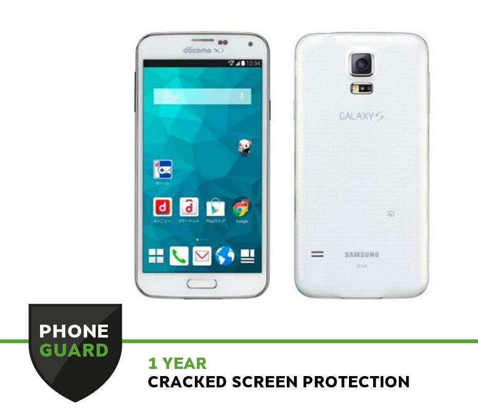 Samsung Galaxy S5 SC-04F White (B Grade)