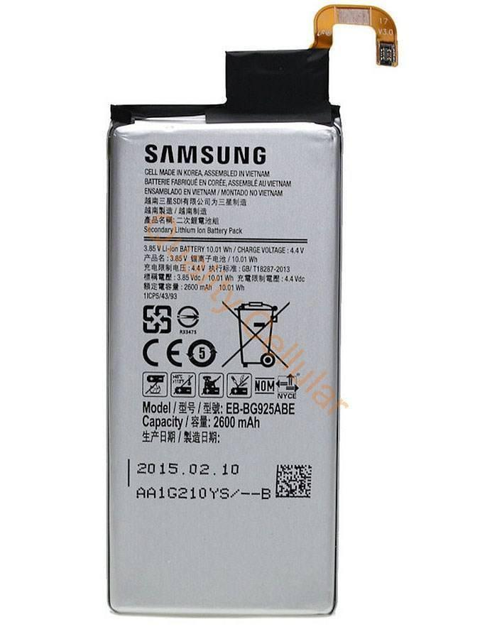 SAMSUNG GALAXY S6 EDGE BATTERY RM120 WITH INSTALLATION
