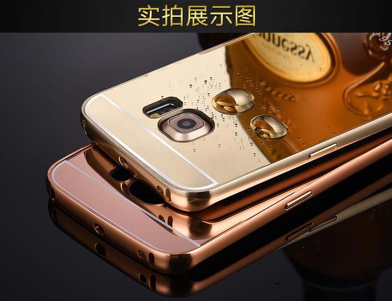 buy popular 127ca d34f1 Samsung Galaxy S6 Edge Metal Case S6 Edge Aluminium Case Cover Casing