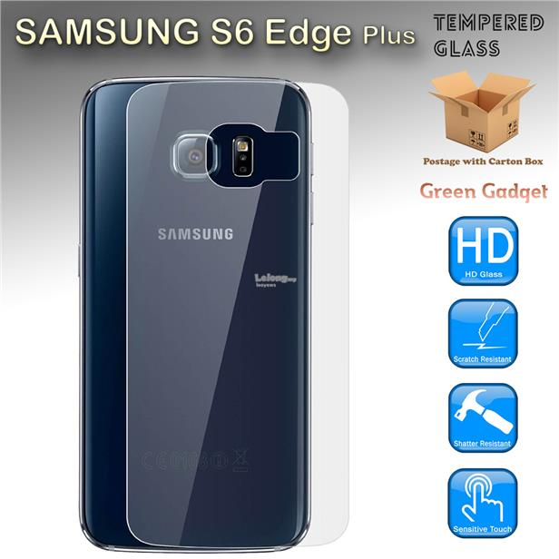 newest 5faf8 e3f8f Samsung Galaxy S6 Edge Plus Back Tempered Glass Screen Protector