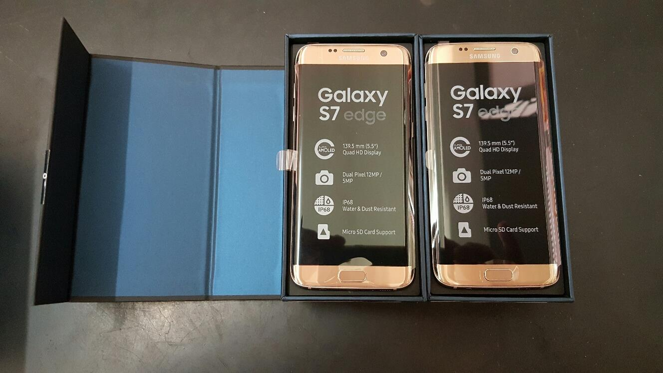 samsung galaxy s7 edge 32gb gold pla end 5 17 2016 2 01 pm. Black Bedroom Furniture Sets. Home Design Ideas