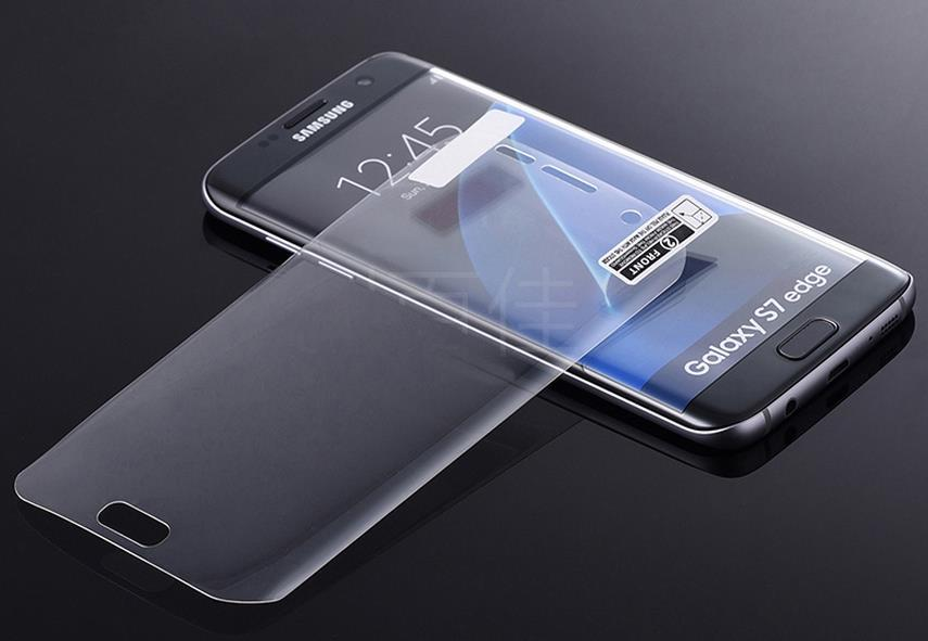 Samsung Galaxy S7 Edge 3D Curved Round Screen Protector + Free Gift