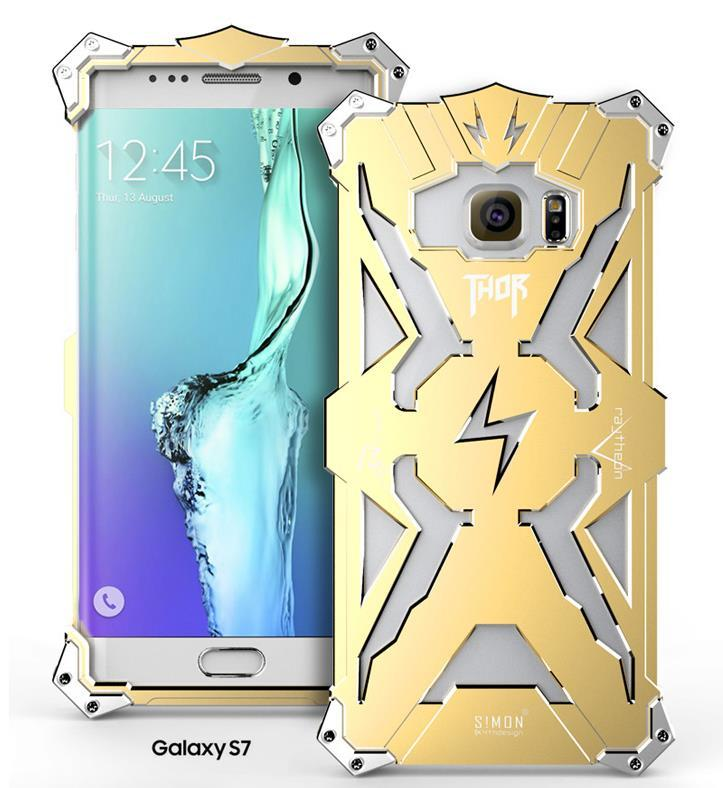 Samsung Galaxy S7 / Edge Aluminium Iron Metal Case Cover Casing +Gifts