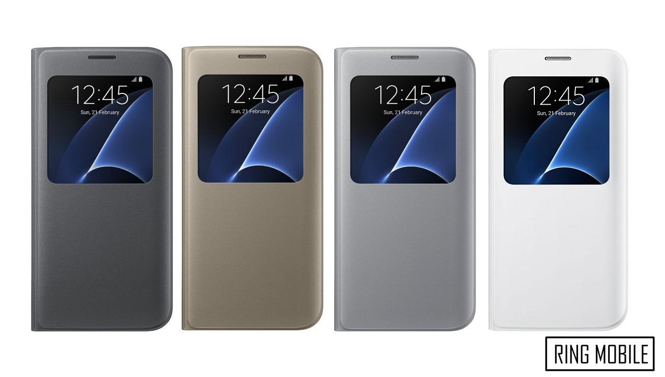 new product 3d832 c043c Samsung Galaxy S7 Edge S View Smart Cover Case - Original
