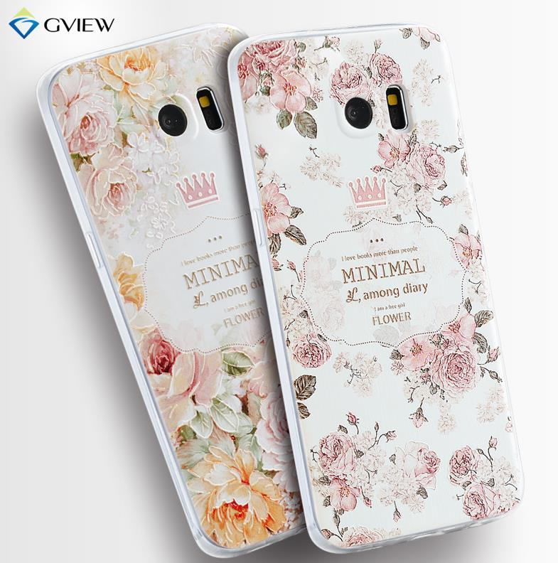 competitive price 07f9d d81b1 Samsung Galaxy S7 / S7 Edge 3D Relief Silicone Case Cover Casing +Gift