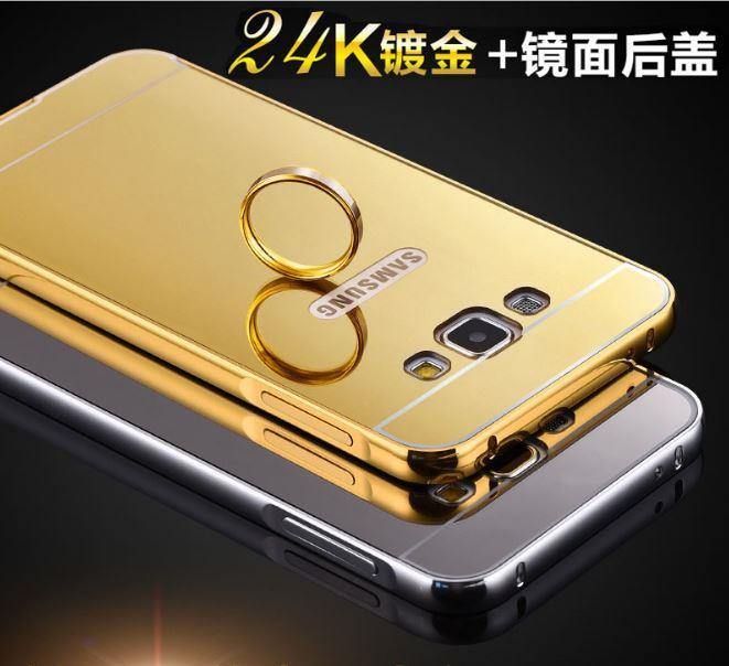 detailed look afa22 4626f SAMSUNG Galaxy S8 PLUS A5 A7 2017 J5 PRIME MIRROR Metal Case
