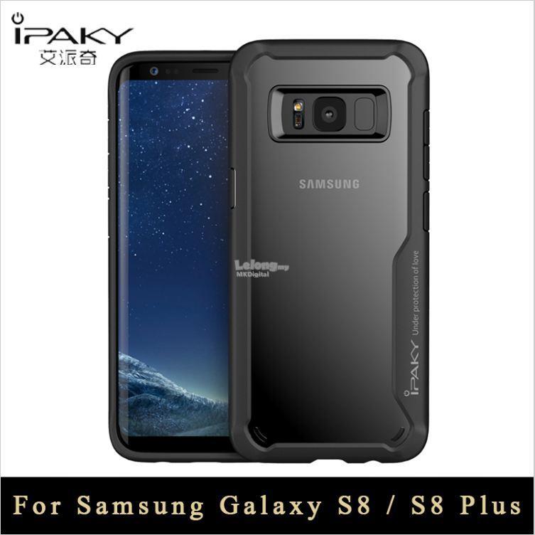 new arrival 4cb84 5a874 Samsung Galaxy S8 / S8 Plus Case ,Original ipaky Slim Transparent Case