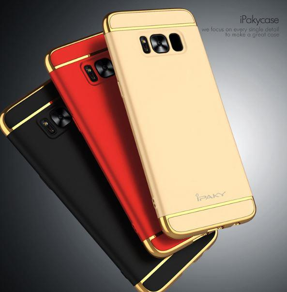 low priced 8eaec 47edc SAMSUNG GALAXY S8 & S8 PLUS IPAKY CHROME Perfect FIT Ultra SLIM Case