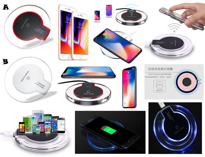 Samsung Galaxy S8 S8 Plus Note 8 Qi Wireless Charger Receiver Pad *1YR