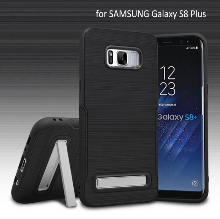 competitive price 312f7 516ec Samsung Galaxy S8 S8 Plus Stand Case Protection Bumper Cover