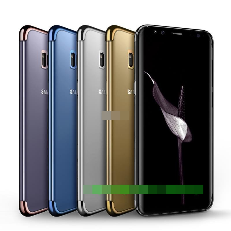 Samsung Galaxy S8 S8+ Plus Ultra Thin Soft TPU Back Case Cover Casing
